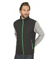 GIBRALTAR - Bodywarmer Soft-Shell 2 couches